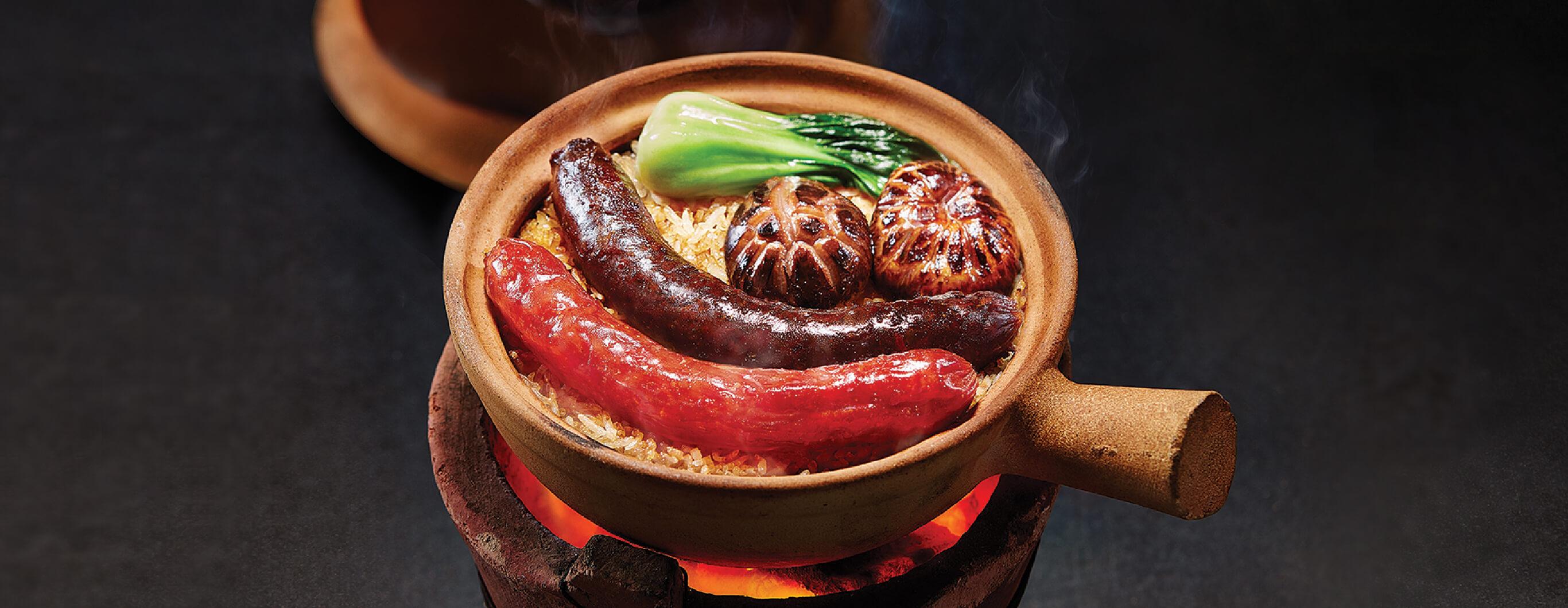 臘腸膶腸及XO醬