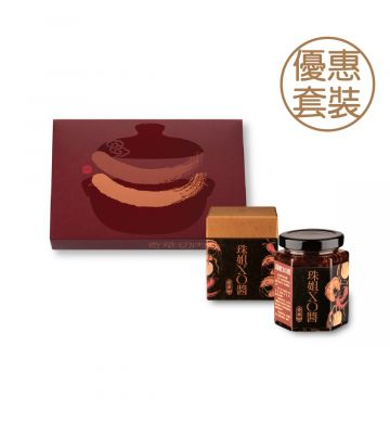 Kee Wah Chinese Sausages 10 pcs + Premium Betty's XO Sauce 170g Set (Online shop limited)