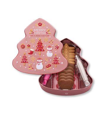 DIY圣诞曲奇礼盒