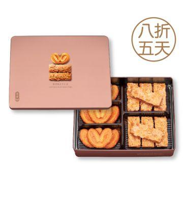 蝴蝶酥杏仁條禮盒(17件裝)