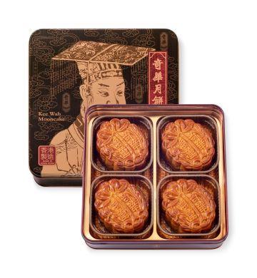 純正金黃/純白蓮蓉月 (4個裝)